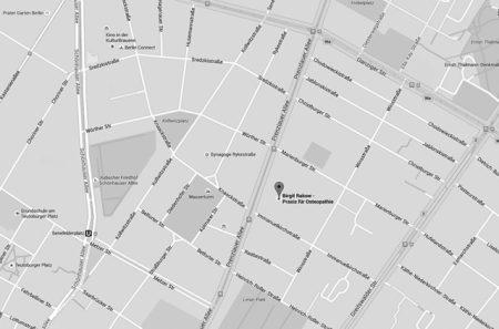 Praxis für Osteopathie Birgit Rakow, Prenzlauer Allee 32, 10405 Berlin